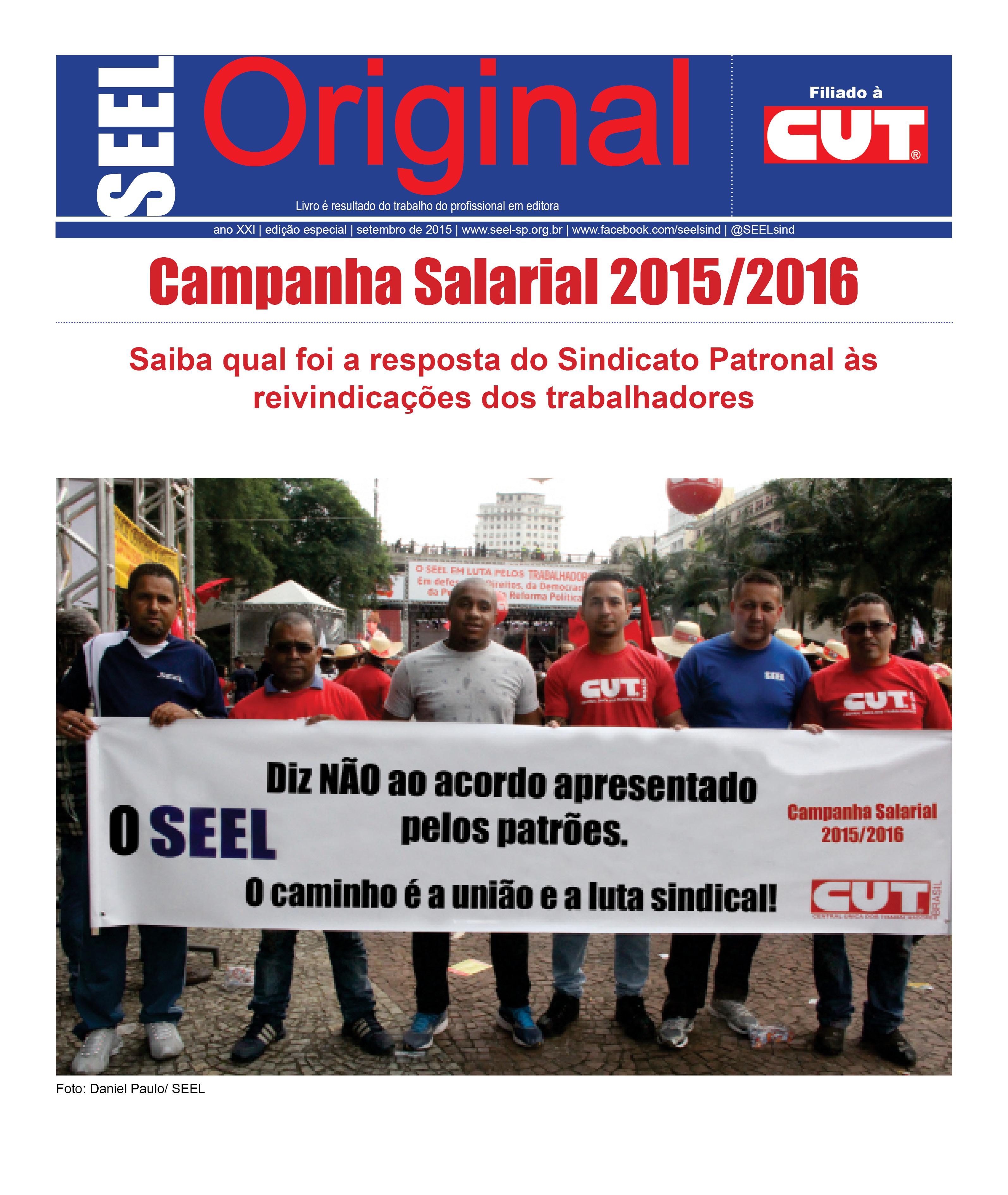 Capa Jornal Original Especial Negociacao Web