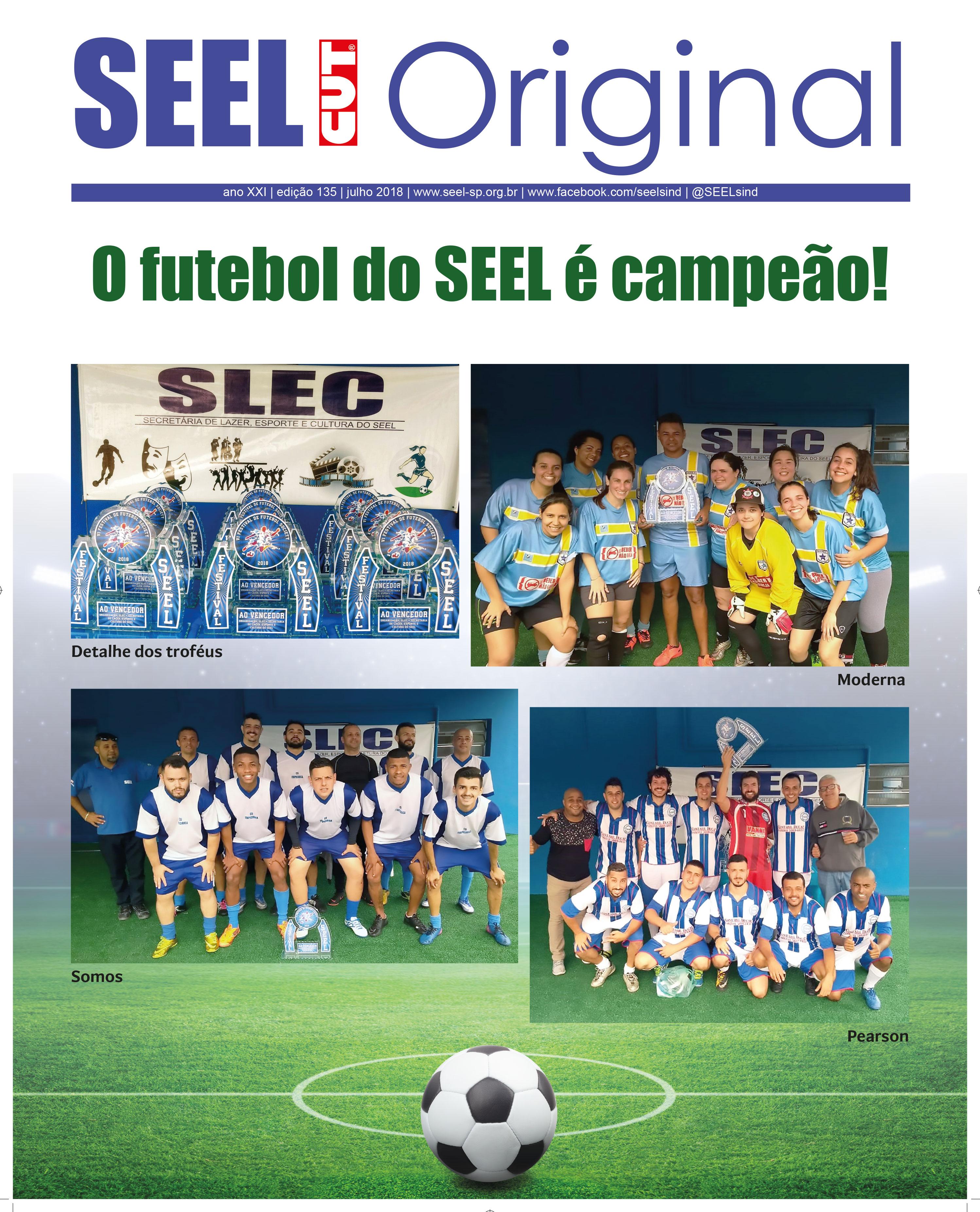 Jornal Original SEEL Edição 135 Julho 2018 Capa