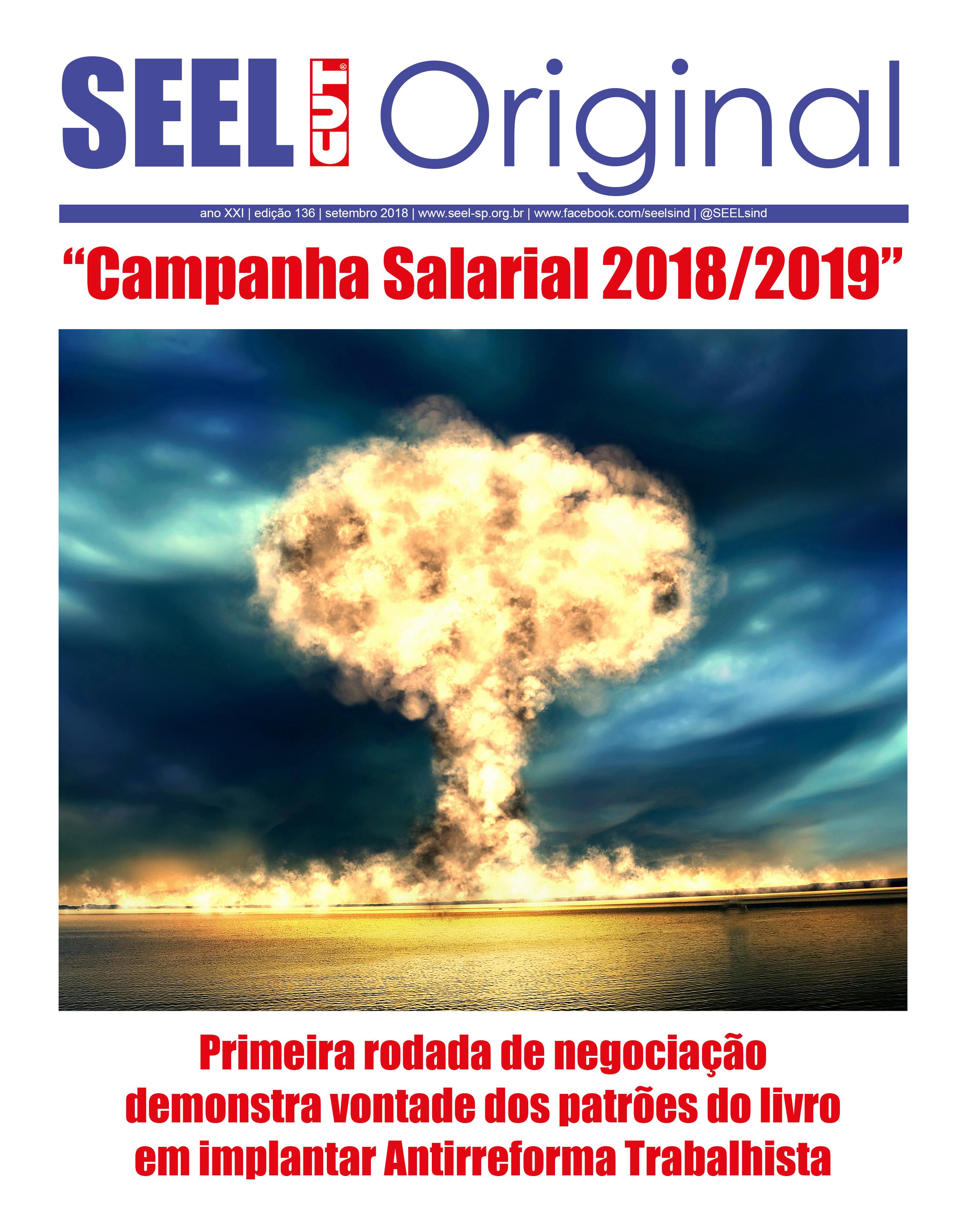 Jornal Original SEEL Edição 136 Setembro 2018 Final